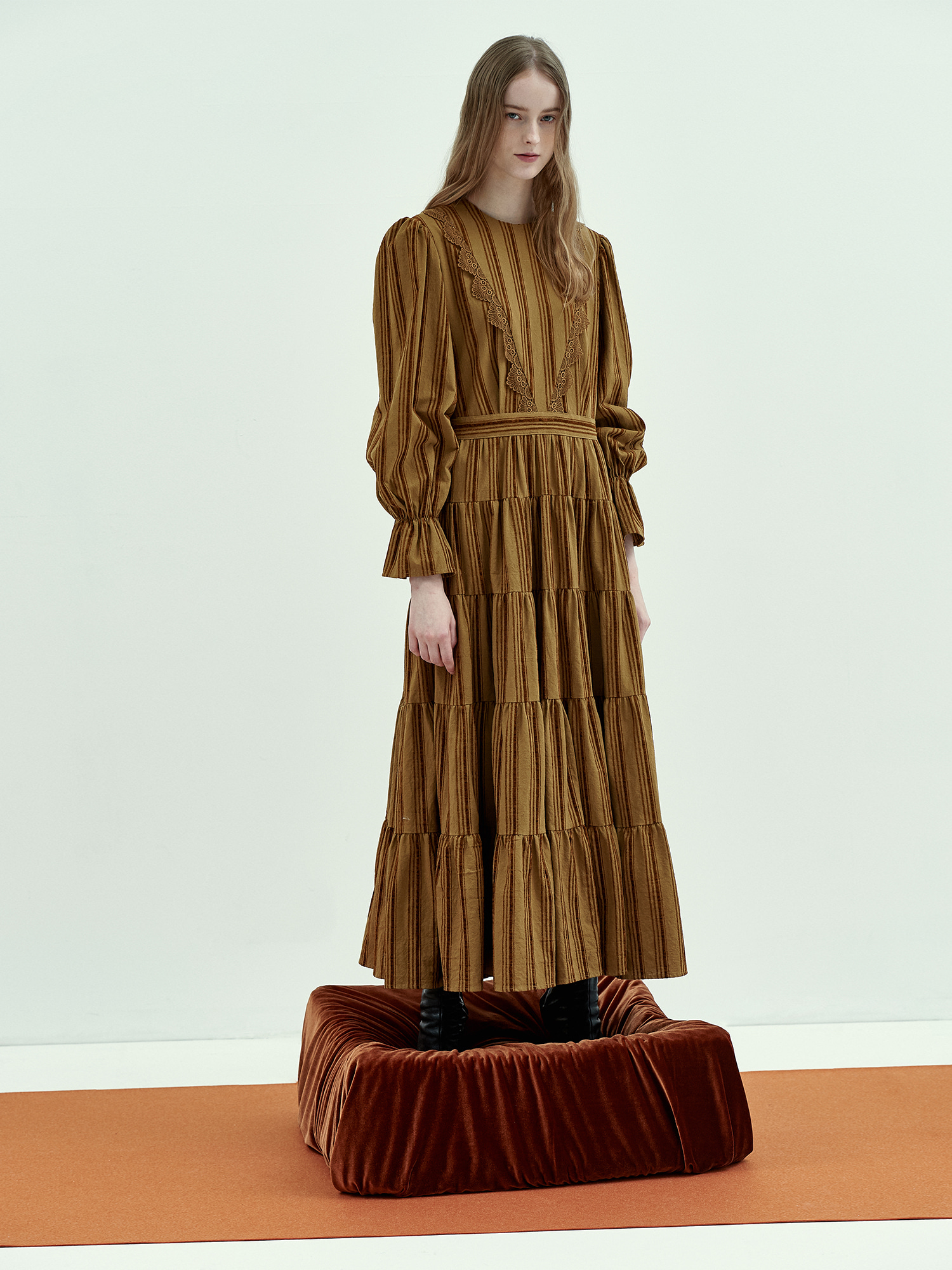 [Season Off Sale 20%Off]Bohemian Maxi Dress in Khaki