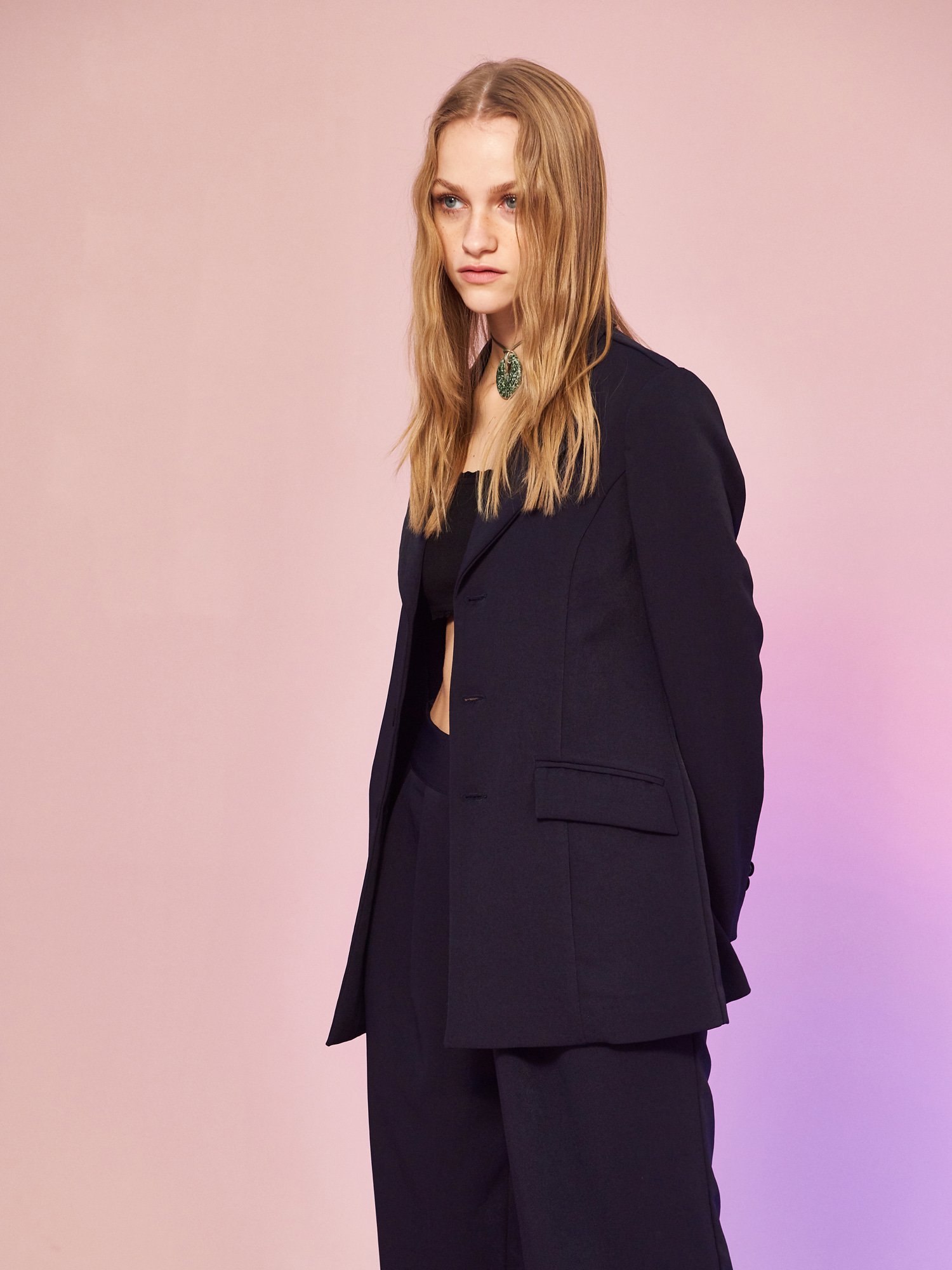 [Clearance 50%Off]Minimal Jacket in Navy